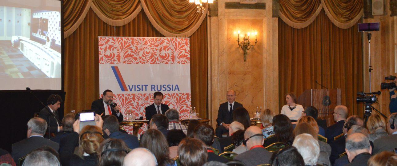 Presentazione alla stampa del nuovo ufficio dell'Agenzia federale del Turismo.
