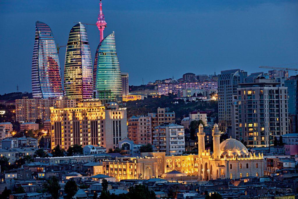 Azerbaijan_02 Baku di notte