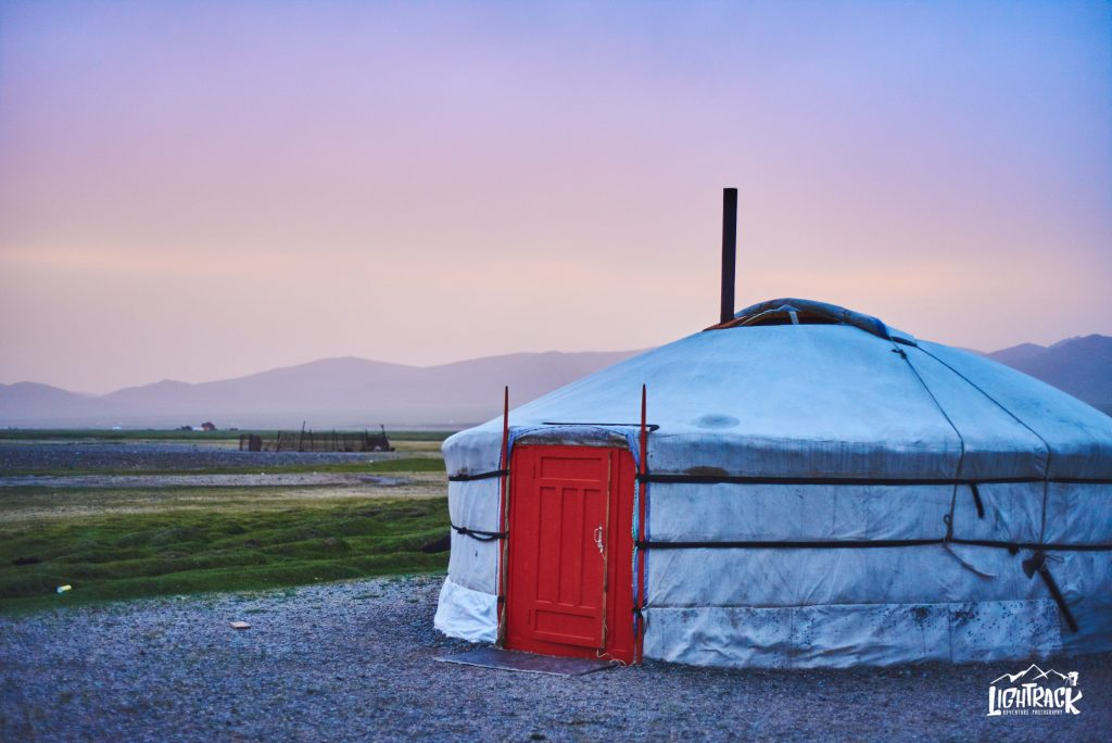 Mongolia-casa tipica yurta