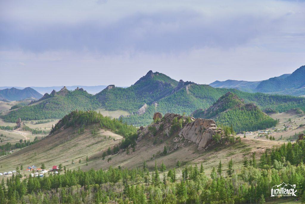 Mongolia-parco Terelj