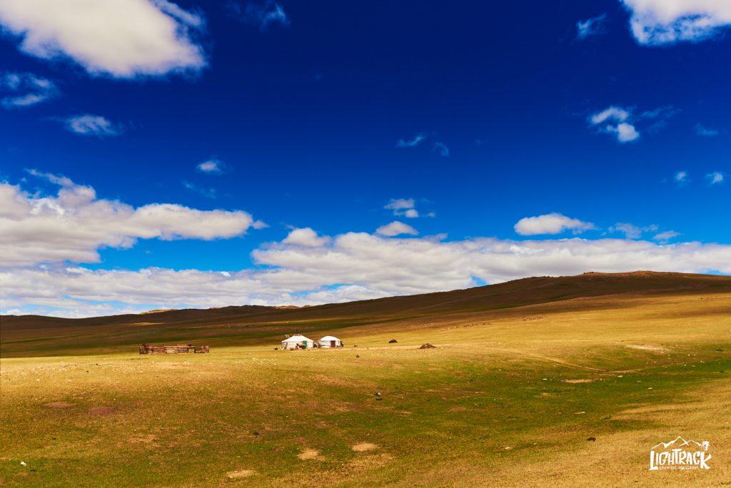 Mongolia-steppa