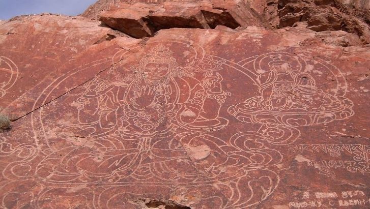 Kazakistan-incisioni rupestri-Tamgaly