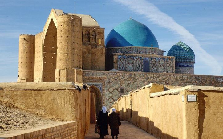 Mausoleo di Khoja Ahemet Yassaui-Kazakistan