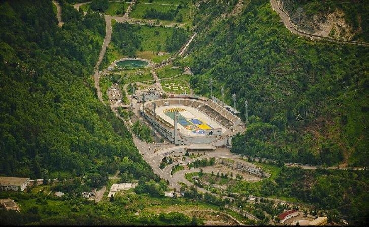 Medeo-complesso sportivo-kazakistan