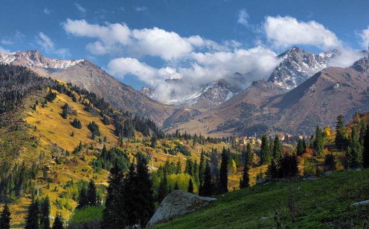 Montagna Kazakistan-Medeo-Complesso sportivo