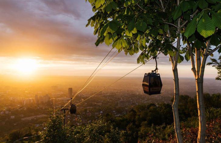 Monte Kok-Tobe-panorama città-
