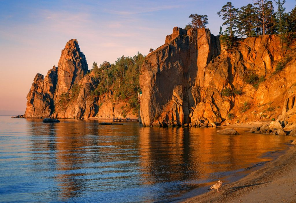Baikal rocks – Eurasian travel
