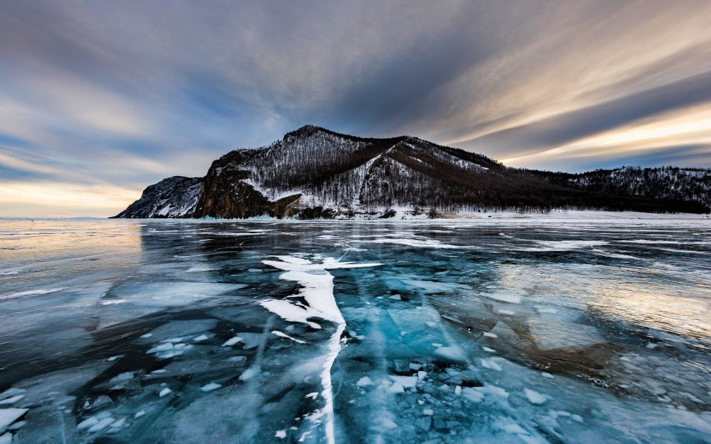 Ice-covered – Lake_Baikal – Eurasian travel