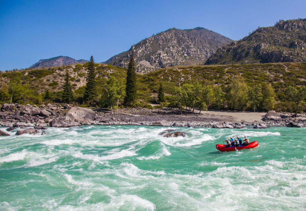 Rafting – Altai – Eurasian Travel