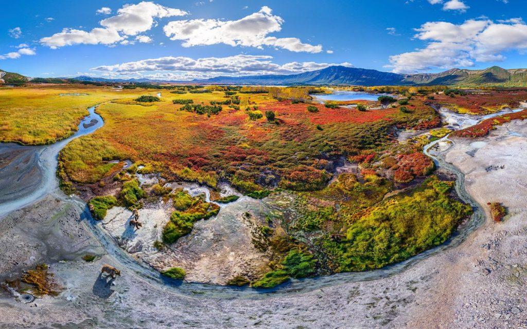 Uzon caldera- kamcatka tour- eurasian travel- vieni a scoprirea la kamcatka- acqua e fuoco